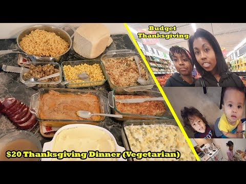 $20 Thanksgiving Dinner- Groceries On A Budget Week Four- Cooking Time Lapse MysticHealer