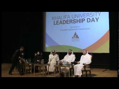 Khalifa University Leadership Day Video