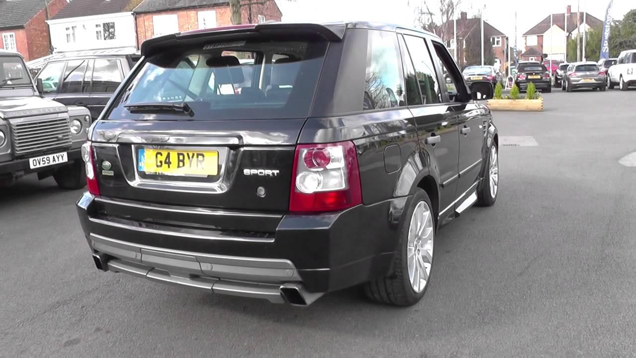 Land Rover Range Rover Sport 2.7 TDV6 Stormer 5dr Auto U10411 - YouTube
