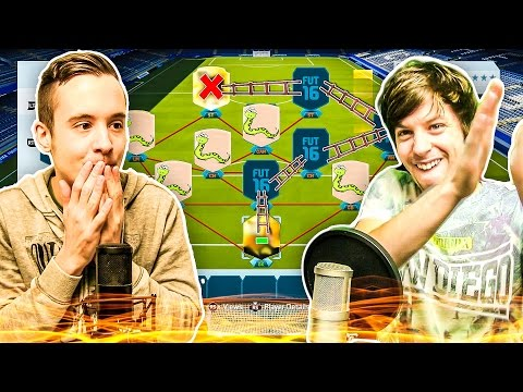 WHAT!! FIFA SNAKES AND LADDERS!! - FIFA 16 Ultimate Team