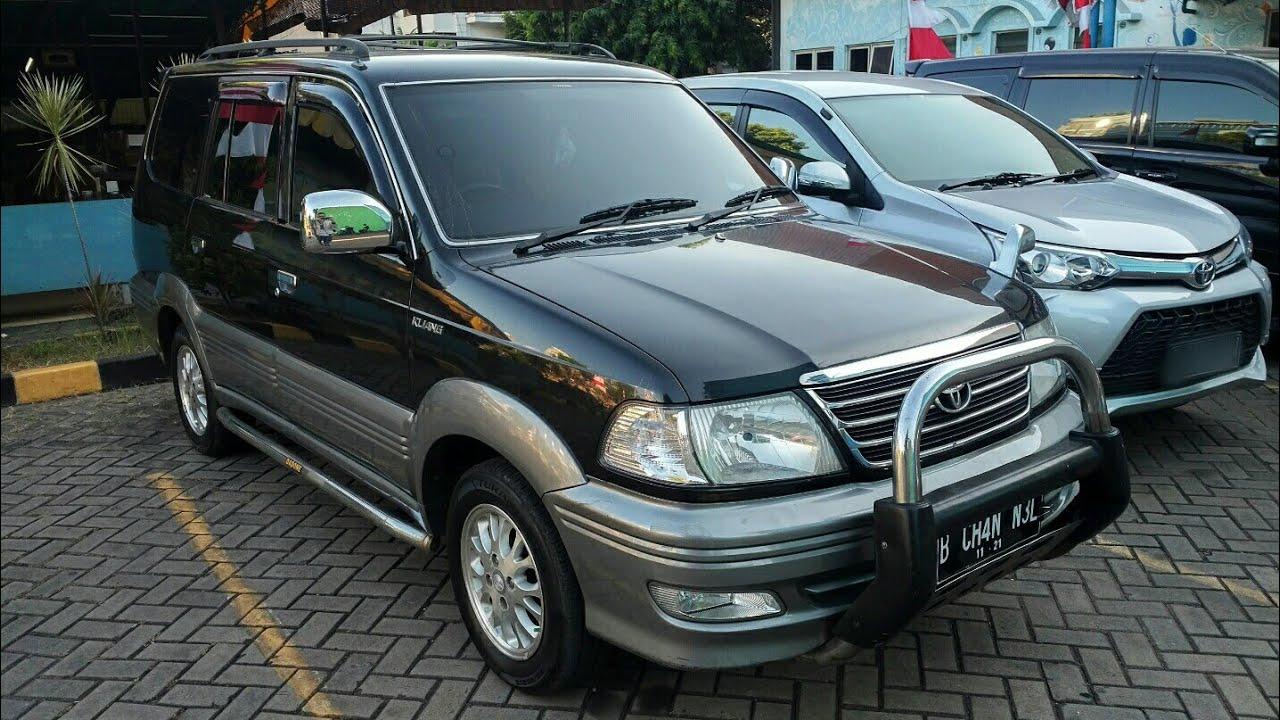 in depth tour toyota kijang krista 2.0 m/t last facelift (2003