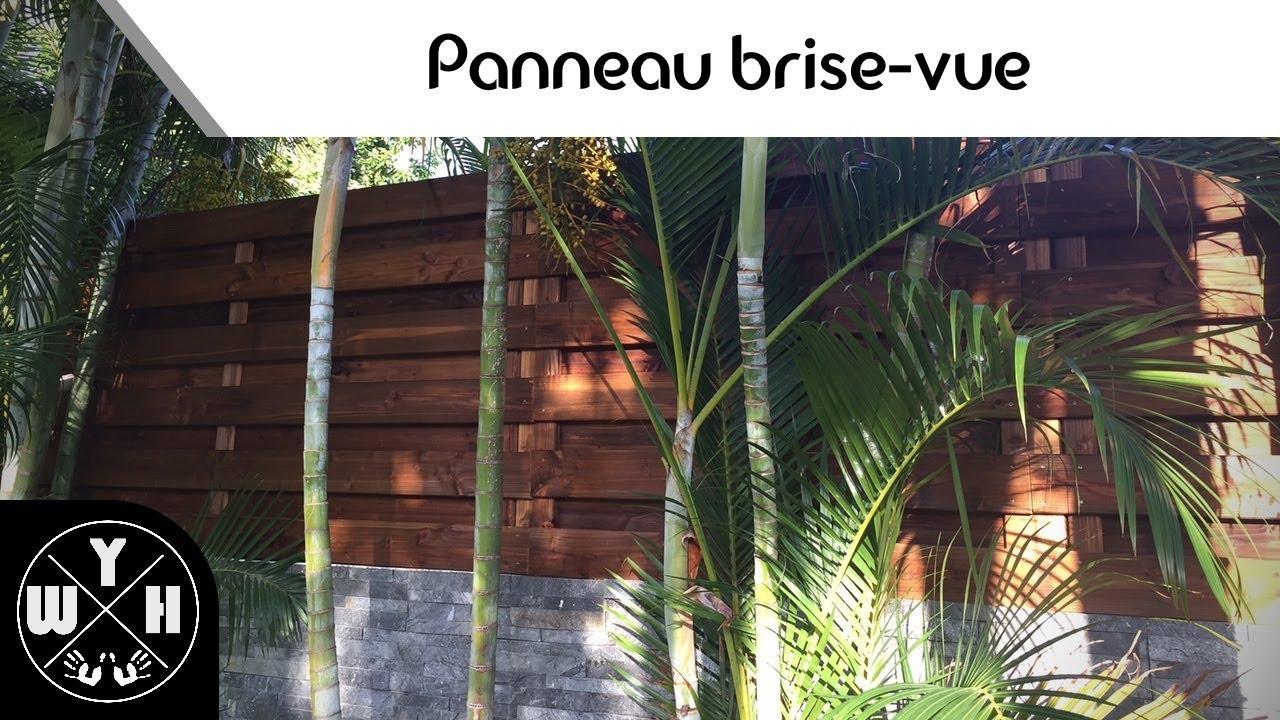 Fabriquer Un Brise Vue Bois #diy - fabriquer des panneaux brise-vue