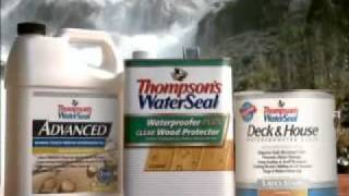 Thompson's Waterseal - Strong Enough For Niagara Falls