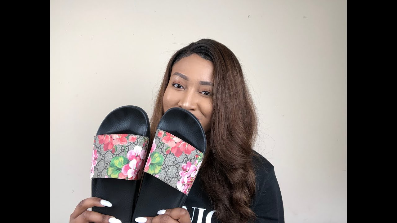 Gucci Blooms Slides Review Youtube