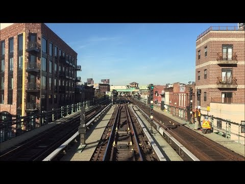 NYC Subway HD 60fps: Ride R42 J Express Trains w/ Flagging (Broadway Junction to Marcy Ave) 1/10/18