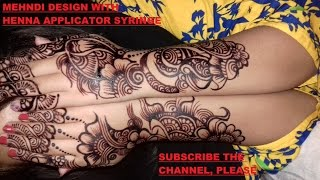 STYLISH MEHNDI DESIGN ON EID 2017| FASHION TREND | MEHNDI DESIGN