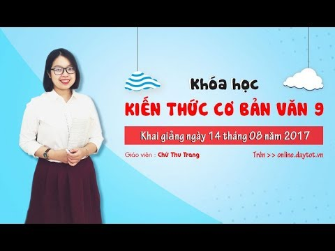 Cách dẫn trực tiếp và cách dẫn gián tiếp- Ngữ văn lớp 9- cô giáo Chử Thu Trang