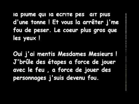 Black M -C'est tout moi (Paroles)