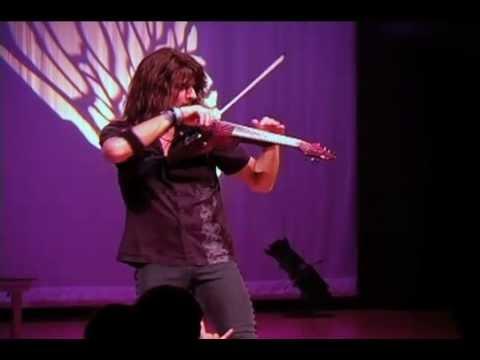 Mark Wood Metal Violinist Solo