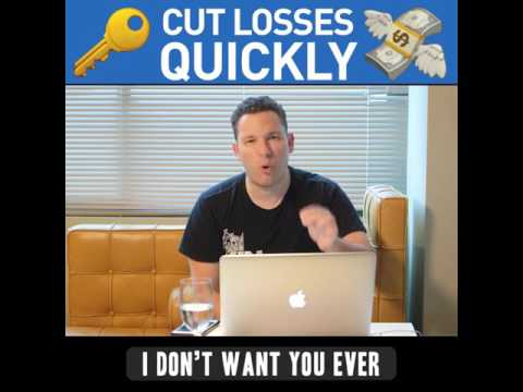 Rule #1: Cut Losses Quickly
