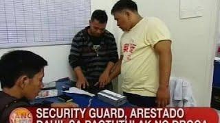 UB: Security guard, arestado sa Pagadian City dahil sa pagtutulak ng droga