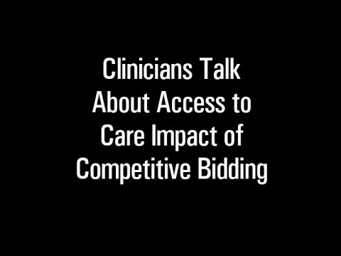 Competitive Bidding Advocacy