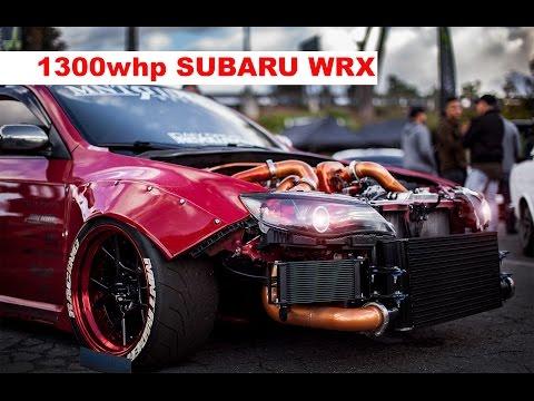 1300 hp Subaru WRX STI WIDEBODY