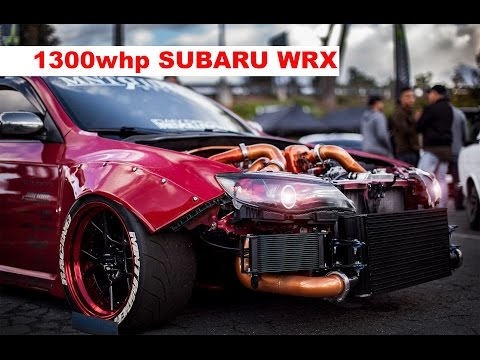 1300 hp Subaru WRX STI WIDEBODY