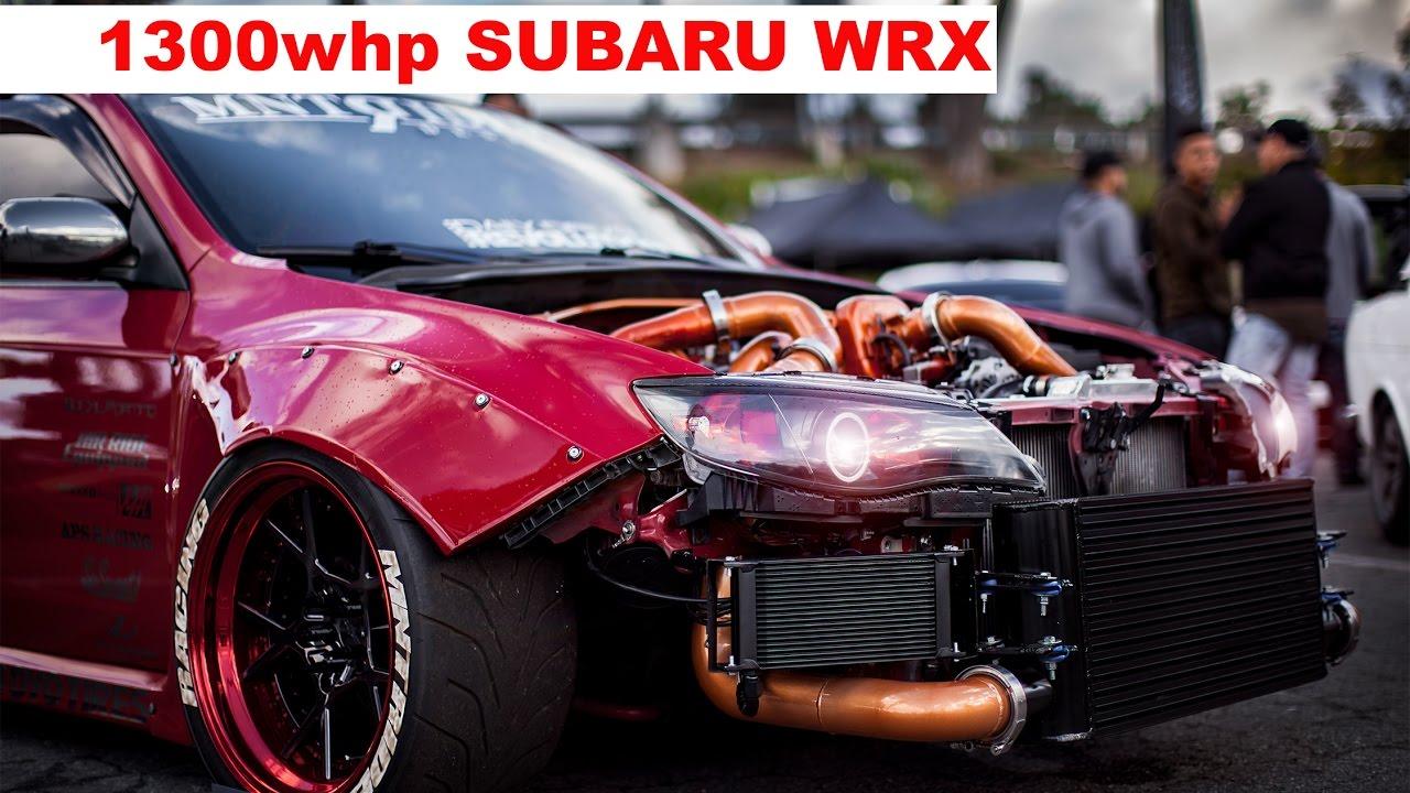 1300 Hp Subaru Wrx Sti Widebody Youtube