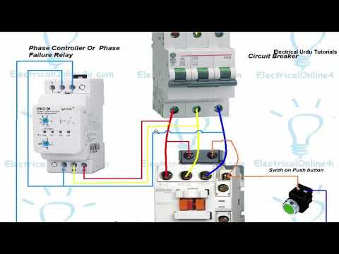 phase failure relay connection installation in hindi \u0026 urdu youtubeCircuit Diagram Of A Phase Failure #15
