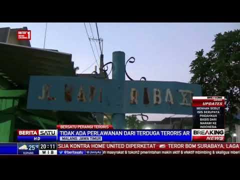 Densus 88 Antiteror Gerebek Rumah Terduga Teroris di Malang