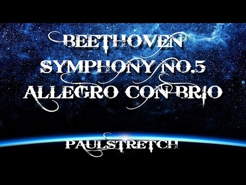 Beethoven 5 th symphony paulstretch