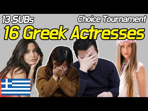 Koreans React to 16 Greek Actresses [Choice Tournament] / Hoontamin