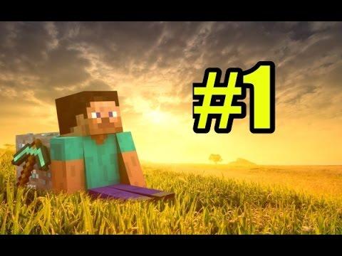 Смотреть Майнкрафт выживание #1