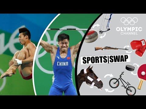 Diving vs. Weighlifting with Lü Xiaojun & Chen Aisen |…