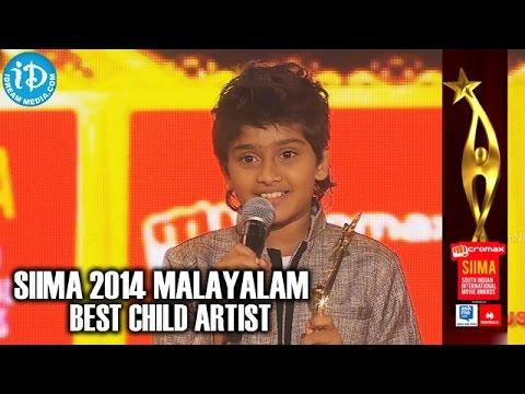 SIIMA 2014 Malayalam Best Child Artist | Sanoop Santhosh | Philips and the Monkey Pen Movie