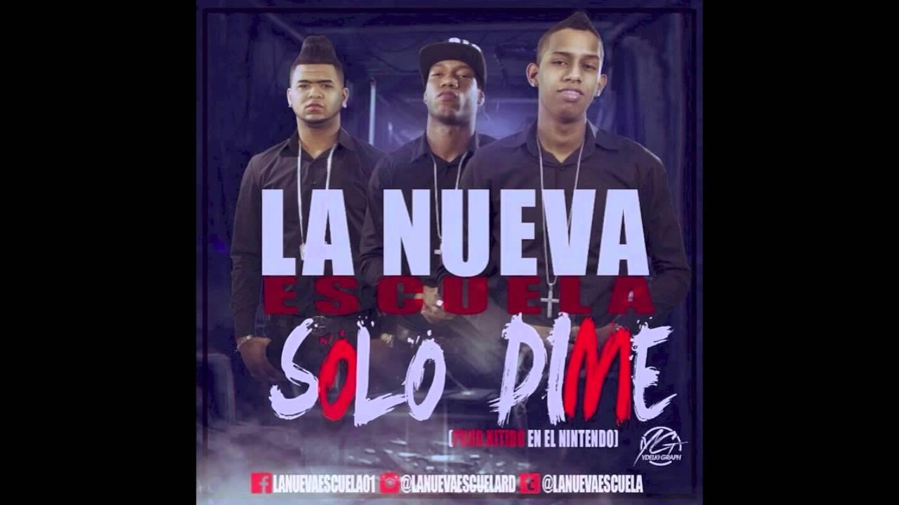 La Nueva Escuela - Solo Dime (Original Sound) by Nitido En El Nintendo @LaNuevaEscuela