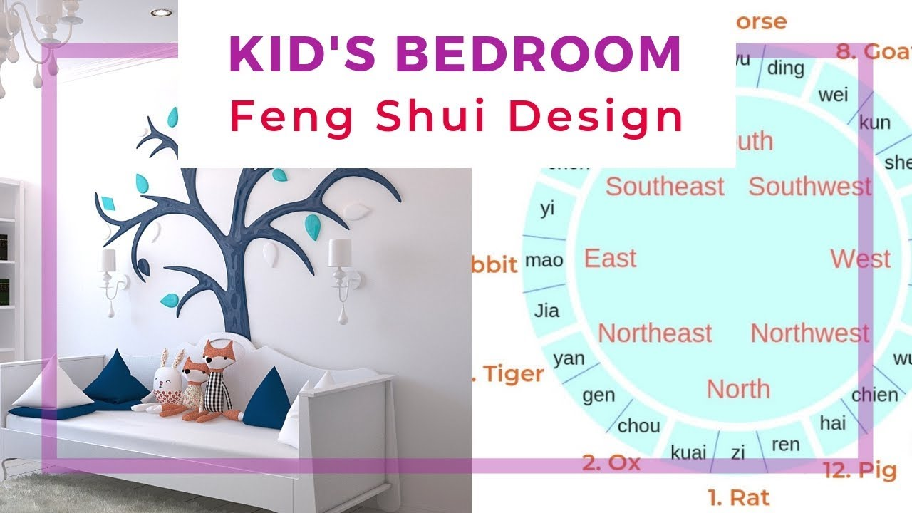 Kid\'s bedroom Feng Shui design