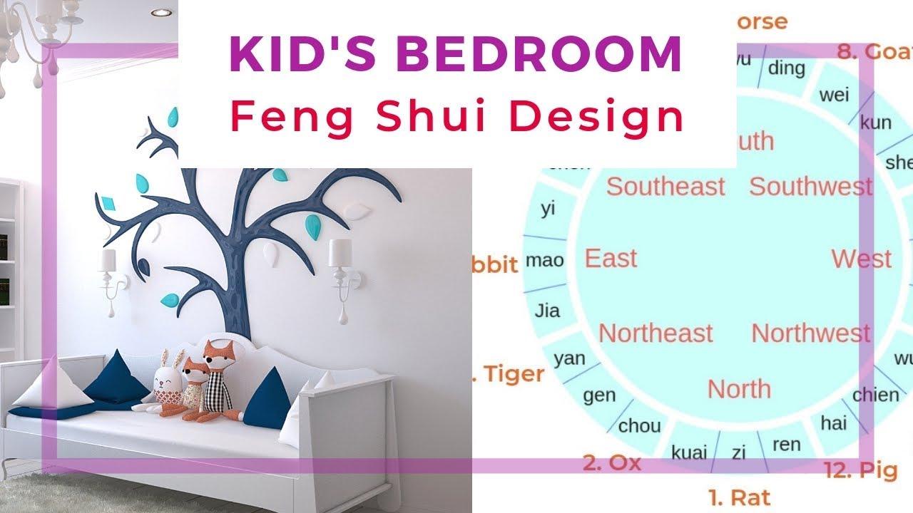 Kid S Bedroom Feng Shui Design Youtube
