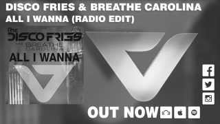 Смотреть клип Disco Fries & Breathe Carolina - All I Wanna (Radio Edit)