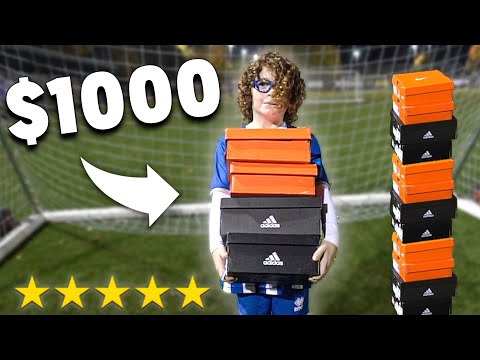Surprising A Kid With His DREAM $1000 Football Boots... LIFE CHANGING