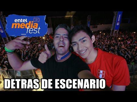 """DETRAS DEL """"ENTEL MEDIA FEST"""" LIMA-PERU │ @brunoacme"""