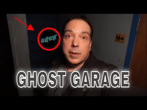 (ABANDONED POLTERGEIST GARAGE) PARADISE LOST,  THIS PLACE IS FILLED WITH  GHOSTS