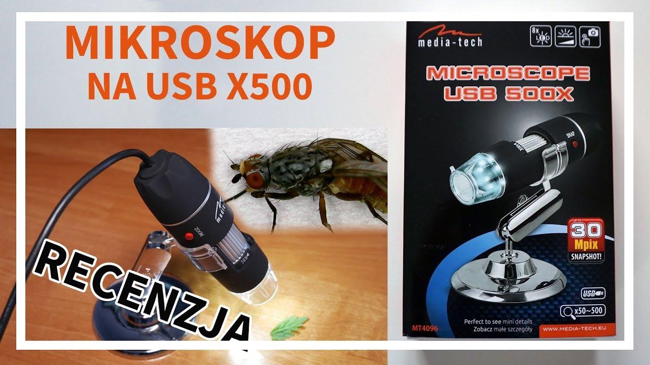 Mikroskop cyfrowy na usb mt4096 od media tech recenzja youtube