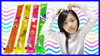 소은이의 핑크퐁 젤리스틱 컬러송 핑거송 색깔배우기 Pinkfong Jelly Stick Learn Color Song Nursery Rhymes[윤탑 키즈][YoonTop Kid]