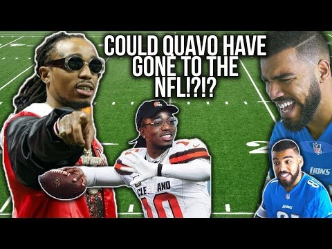 Quavo Was A RECORD SETTING Quarterback In High School!!! Quavo Football Highlights [Reaction]