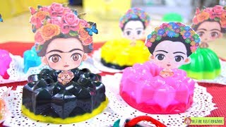 Gelatinas Frida Kahlo fiesta mexicana| ROSVI HERNANDEZ