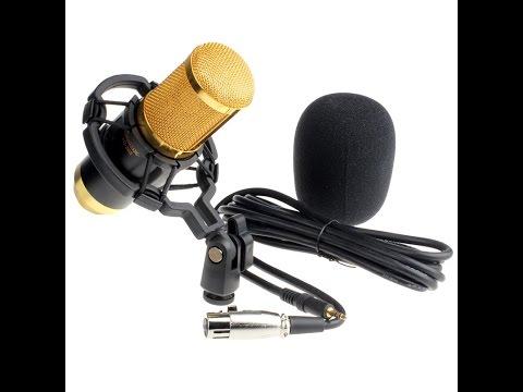 Unboxing на новият ми микрофон НА ЖИВО! :D