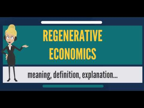 What is REGENERATIVE ECONOMICS? What does REGENERATIVE ECONOMICS mean?