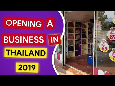 Opening A Business In Thailand - YouTube