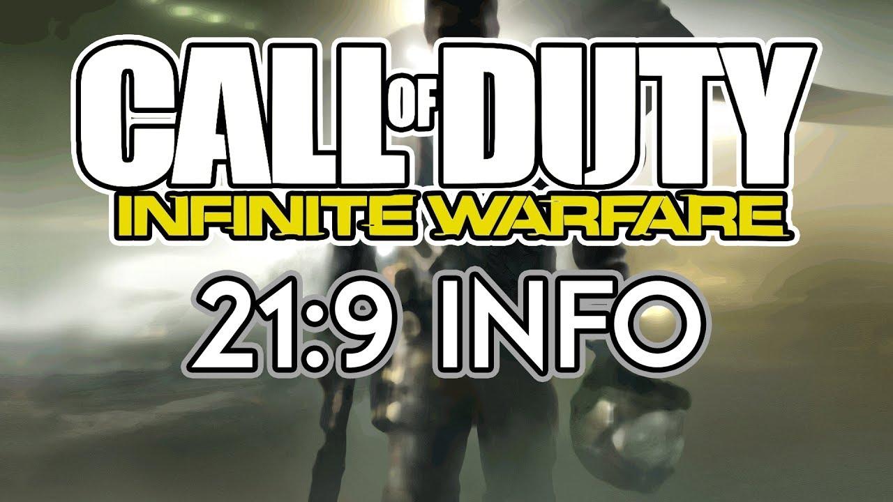 Call of Duty: Infinite Warfare | 21:9 Info