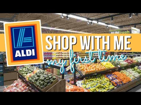 ALDI HEALTHY GROCERY HAUL ON A BUDGET : FOOD SHOPPING WITH ME | SCCASTANEDA
