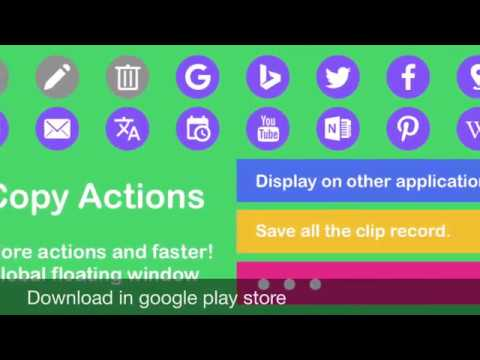 Copy Actions  For Pc - Download For Windows 7,10 and Mac