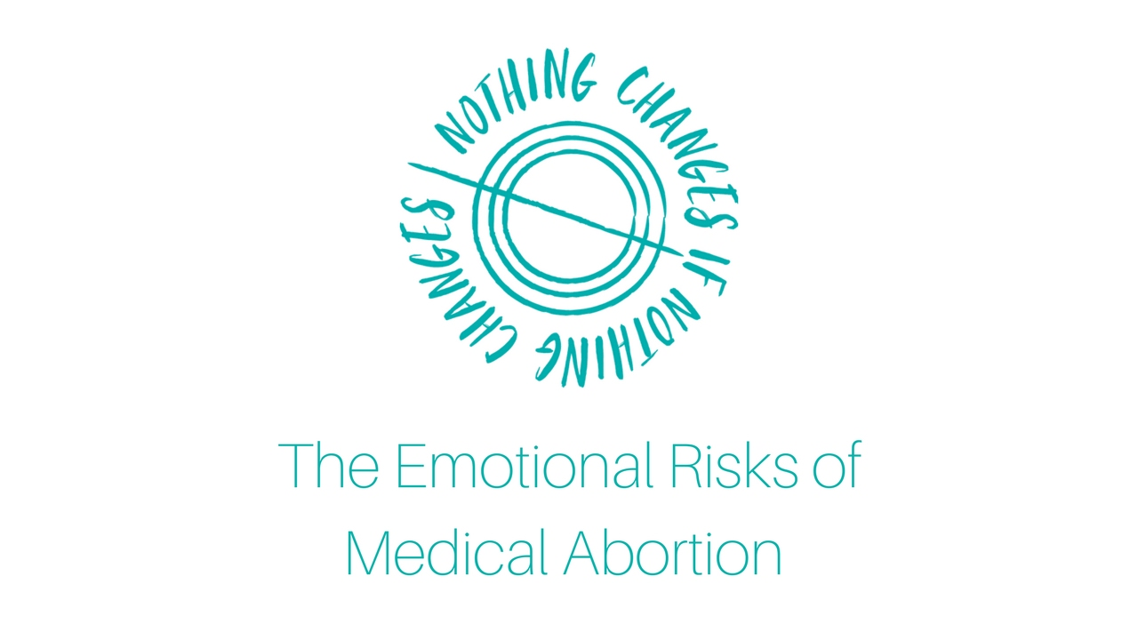 abortion includes psychological risks to the Induced abortion methods & risks  additional risks of abortion include:  any significant emotional and psychological issues should be considered and addressed .