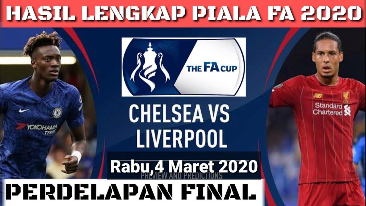 Hasil piala fa 2020 tadi malam - Chelsea vs Liverpool 2-0 ...