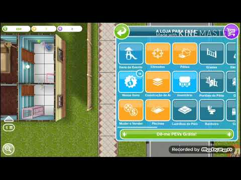 THE SIMS FREE PLAY a reforma PARTE 3
