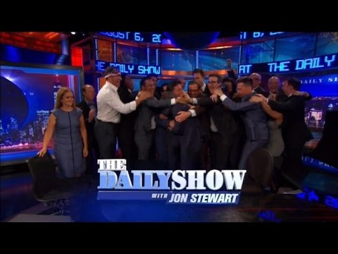Bruce Springsteen, John McCain and More Give Jon Stewart a Heartfelt Farewell