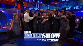 Bruce Springsteen, John McCain and More Give Jon Stewart a Heartfelt Farewell