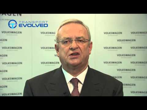 Video statement Prof  Dr  Martin Winterkorn from VW
