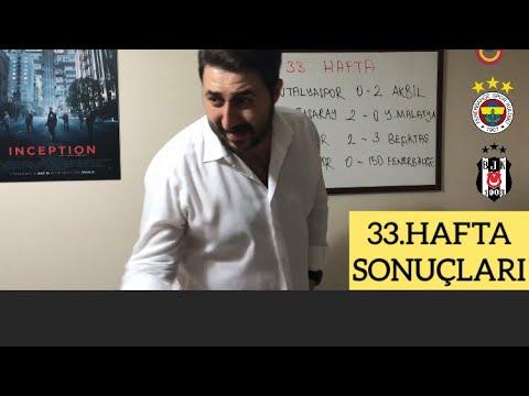 33.Hafta Sonuçları (MHK TEMSİLİ)